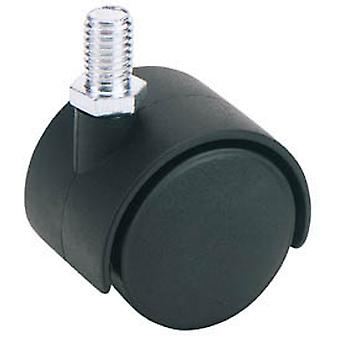 Draper 65464 40mm Diameter Twin Nylon Castor - S.W.L 25Kg