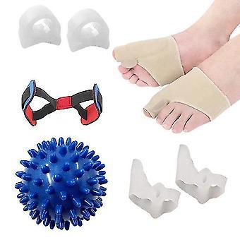 Großhandel Zehenabscheider Protektor Silikon Daumen Bunion Korrektor Füße Pflege Korrektur Werkzeuge mit Massage Ball Kit m3