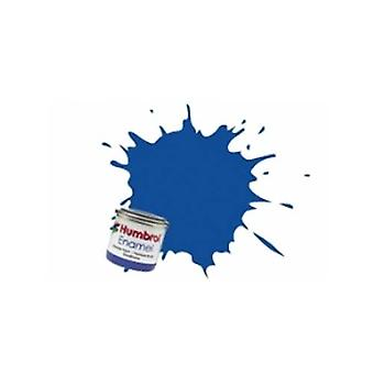 Humbrol emalje maling 14ML No 25 Blue - Matt
