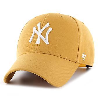 47 العلامة التجارية قابل للتعديل كاب - MLB نيويورك يانكيز القمح البيج