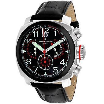 Christian Van Sant Men's Grand Python Black Dial Watch - CV3AU2