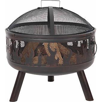 RedFire Panier de feu Blazer bronze acier