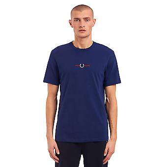 Fred Perry Men's Embroidered T-Shirt Regular Fit
