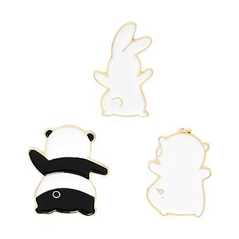 Party Time Enamel Pin, Brooch Bag Clothes, Lapel Pins Badge, Cute Cartoon