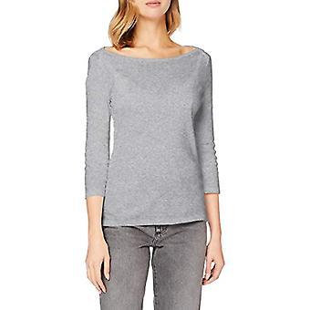 United Colors of Benetton 3GA2E16A1 T-shirt, Melange Light Grey 501, XL Woman