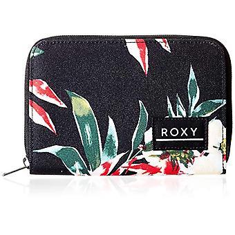 Roxy Dear Heart, Dames portemonnees, Antraciet Wonder Garden S, Medium