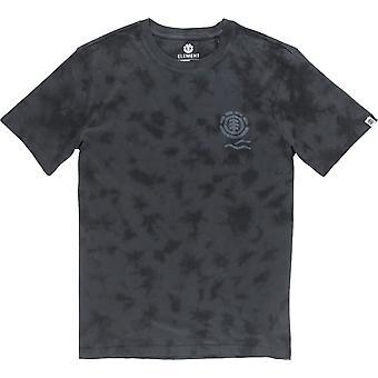 T-shirt à manches courtes Element Valley en noir Flint