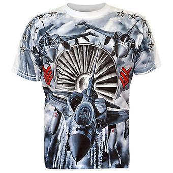 Aquila - F16 Fighter - Wit T-Shirt