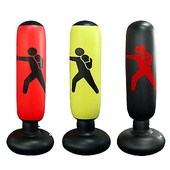 Vertical Inflatable Boxing Column Adult Fitness Decompression Inflatable Punching Bag Blow Column Thickened Tumbler Column