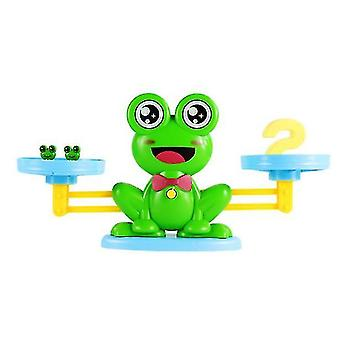 Frog number addition and subtraction balance game,kid's educational learning toys az1630
