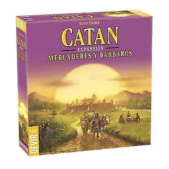 Board game Catán Expansión Devir Mercaderes y Bárbaros (ES)