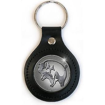 Pink Floyd - Pig Keychain