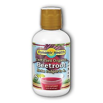 Dynamic Health Laboratories Certified Organic Beetroot Juice, 16 oz