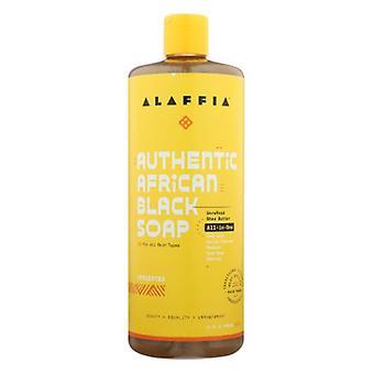 Alaffia Black Soap Unscented, 32 Oz