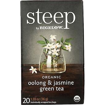 Bigelow Tea Steep Oolng Jsmne Org, Case of 6 X 1.28 Oz