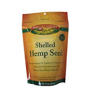 Manitoba Harvest Hemp Hearts Raw Shelled Seeds, Delicious Nutty Flavor 8 Oz