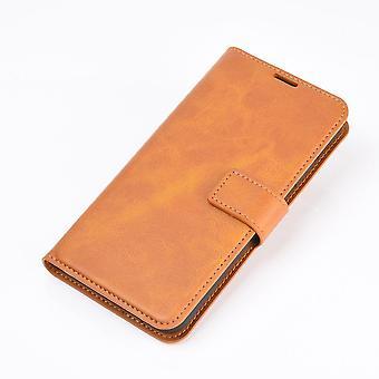 Étui de téléphone en cuir pour samsung a51 4g / 5g filp couverture arrière portefeuille cas