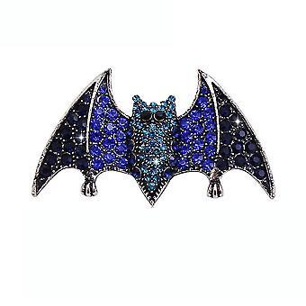 Brooch Pin Cartoon Bat Corsage Diamond Inlaid Alloy Ladies Brooch