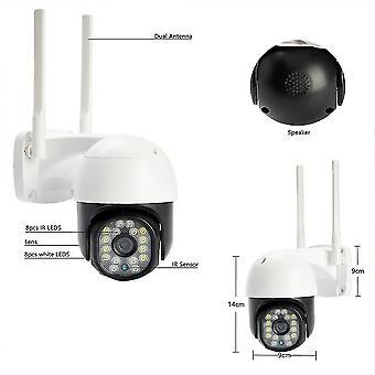 Chpt1 ptz wifi ip dome camera 1080p 2mp digital zoom wireless security cctv camera audio surveillance