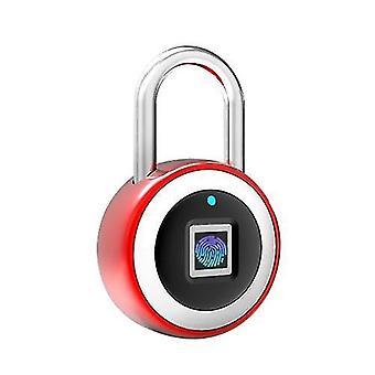 Smart BT Fingerprint Cadenas déverrouillage par empreinte digitale et par empreinte digitale APP Rechargeable Keyless 10 Empreintes digitales