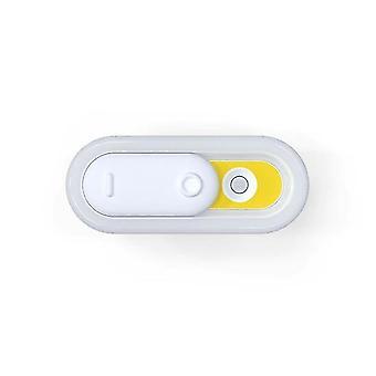 مصباح LED ضوء استشعار الضوء الداخلي ليلة(أصفر)