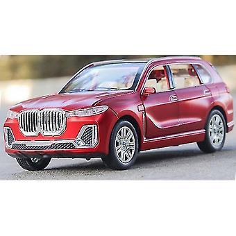 1:24 BMW X7 سيارة موديل سيارة يموت يلقي سيارة نموذج سحب المقتنيات الأطفال اللعبة