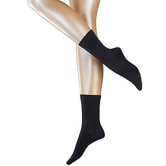 Esprit Accent prúžok balenie 2 párov ponožiek-čierna