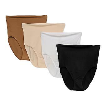 Rhonda Shear Panties 4 Pack Seamless High Waist Brèves bases 700696