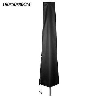 (190 *50 * 30 CM) 1.9M/2M Deluxe Holdbar Stor Paraply Parasol Vandtæt Cover Havemøbler