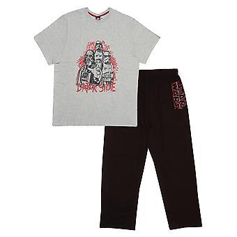 Star Wars Vader Dark Side Męska długa piżama zestaw   Oficjalny towar