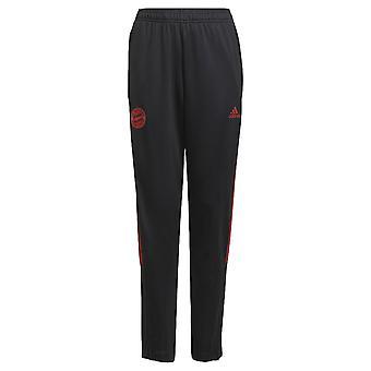 2021-2022 Bayern Munich Training Pants (Black) - Kids