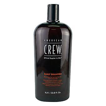 American Crew hombres Daily Shampoo (de Normal a cuero cabelludo y cabello graso) 1000ml/33.8oz