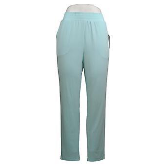 IMAN Global Chic Women's Pants Ankle w/ Pockets Blue 741779