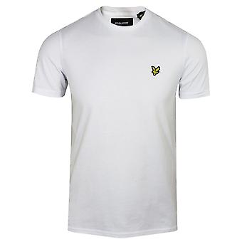 Lyle & scott mens white t-shirt