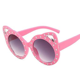 Retro Luxury Cat Eye Kids Sunglasses
