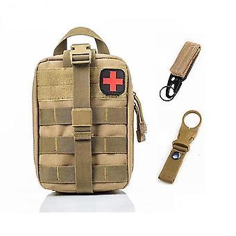 Bolsa médica táctica de primeros auxilios del sistema Molle para emergencias (A-k Bag And 2 Hook)
