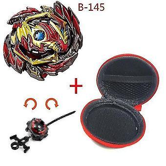 5 + Beyblade Burst Funken Turbo b48 Werfer, Metall Top Gyro Blade Klinge Spinning Kampf Spielzeug (B145)