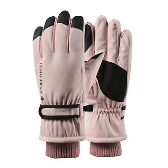 Silktaa Women's Waterproof And Cold-proof Outdoor Cycling Gloves