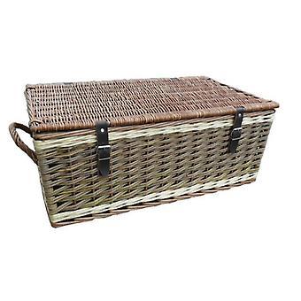66cm Three Tone Empty Picnic Basket