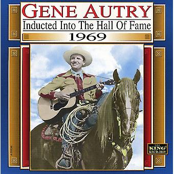 Gene Autry - 1969-Country Music Hall of Fam [CD] USA import