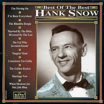 Hank Snow - Best of the Best [CD] USA import