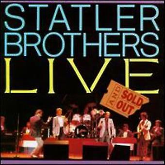 Statler Brothers - Live & Sold Out [CD] USA import