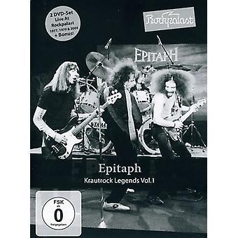 Épitaphe - épitaphe: Vol. 1-Rockpalast: importation USA Krautrock Legends [DVD]