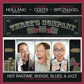 Holland, Brian/Spitznagel, Martin - Three's Company: Hot Ragtime Boogie Blues & Jazz [CD] USA import