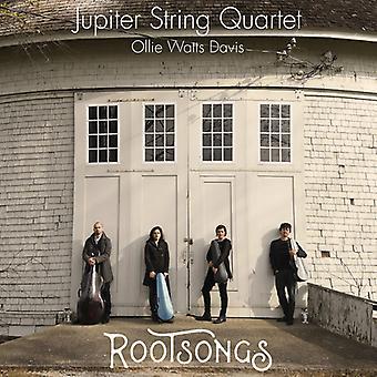 Dvorak / Taylor / Jupiter String Quartet / Davis - Rootsongs [CD] USA import