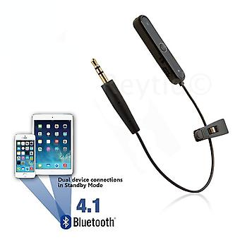 REYTID Wireless Bluetooth Adaptr Cable Compatible with Bose SoundTrue On-Ear and Around Ear Headphones - Convert Wired to Wireless!