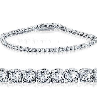 2 Cttw Diamond Tennis Armband 14 KT Weißgold 7