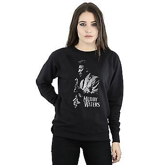 Muddy Waters Women's Mono Distressed Sweatshirt