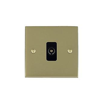 ハミルトン Litestat ・ チェリトン ビクトリア朝サテン真鍮 [1 g/1out BL 1 で非絶縁型テレビ