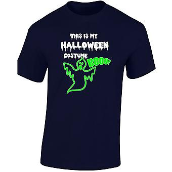 This Is My halloween Costume Glow In The Dark Halloween Fancy Dress Kids Unisex T-Shirt 8 Colours (XS-XL) by swagwear